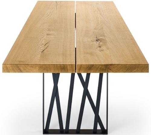 seetal swiss esstisch cavo xl mit fuss frame kieser wohnen baltensweiler boxspringbetten. Black Bedroom Furniture Sets. Home Design Ideas